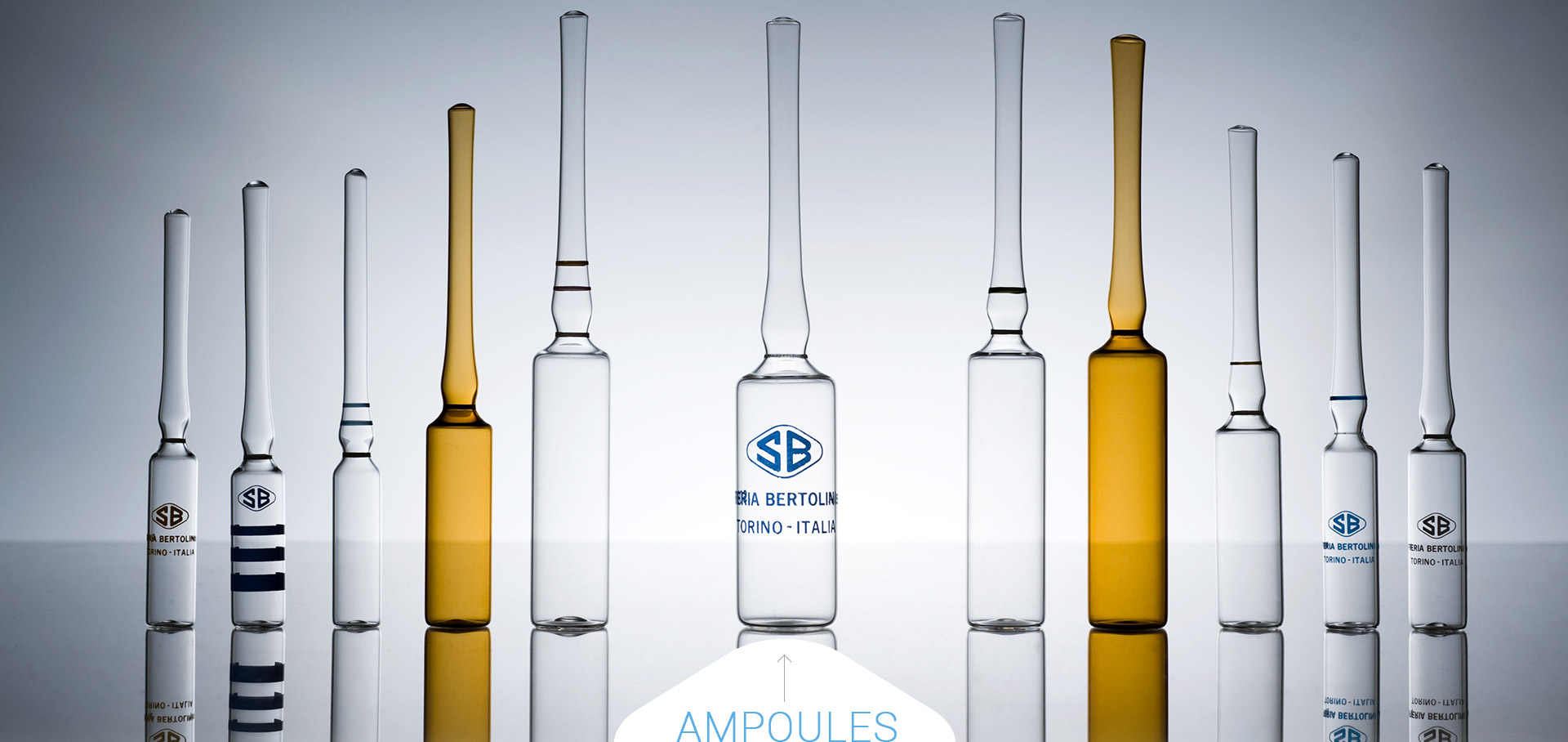 Soffieria Bertolini manufacture ampoules for the pharmaceutical industry
